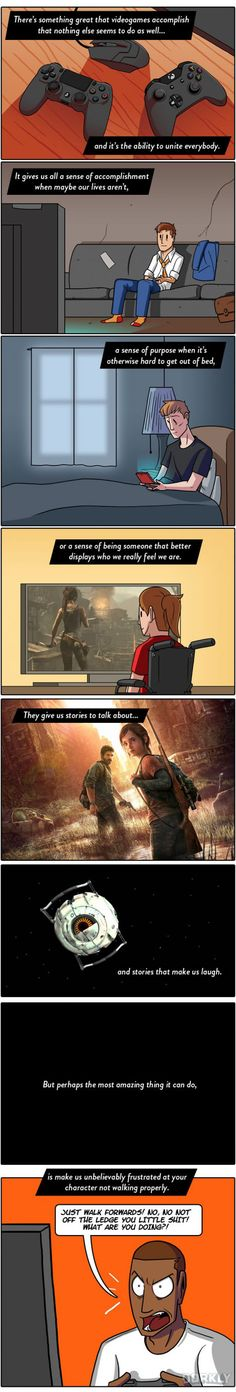 The Best Part About Video Games