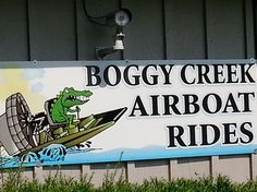 We Caught a Ride at Boggy Creek Airboat Tours