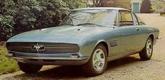 The lost 1965 Giugiaro Bertone Mustang -  ...a one-off Ford Mustang styled by Italian coachbuilder Bertone and designer Giorgetto Giugiaro. I'd show you a more modern picture than this, but the car hasn't been seen in public for decades. Yet there's evidence it's still intact, somewhere.