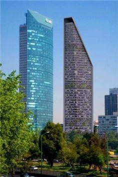 La Torre Mayor y la Torre Reforma