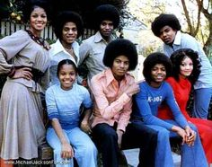 The Jacksons in 70's
