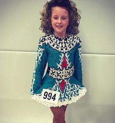 Taylor Irish dance dress #irishdancedress #taylordressesbelfast #blue #teal #red