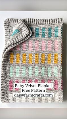 Bag Crochet, Crochet Daisy, Baby Afghan Crochet, Crochet Yarn, Crochet Hooks, Free Crochet, Baby Afghans, Crochet Blankets, Baby Blankets