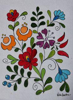 Rita Barton: Painted Hungarian Folk Art Flowers