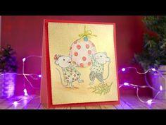 Haz una tarjeta Navidad con fondo metalizado utilizando la técnica de la máscara y colores de madera.  El canal de Pegapapelotijeras : https://www.youtube.com/channel/UCQl930gT7Q38bHdrbOTWQMQ