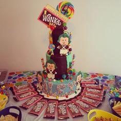 Coolest Willy Wonka Birthday Cake... Coolest Birthday Cake Ideas
