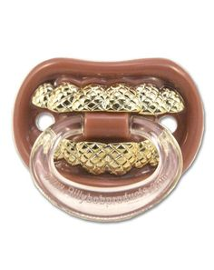 Billy Bob Grillz Pacifier with Ring