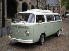 Oude Volkswagenbus
