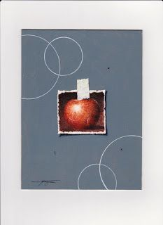 Massimo Capogna - Artist:  Tecnica mista acquerello al caffè con penne stae...
