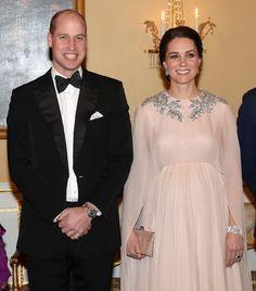 Los 'royals' noruegos reciben a los Duques de Cambridge con una cena de gala