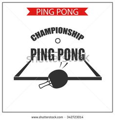 Killerspin jet100 table tennis paddle tennis logos and graphic ping pong logotype ping pong icon vector table tennis logo or symbol fandeluxe Gallery
