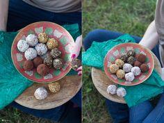 Energyballs Glamping Rezeptideen - Proviant für Unterwegs - kleine Energyballs selbermachen