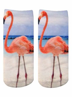 Flamingo ankle socks with a unisex fit and printed on one side only. Measures: L x W Flamingo Ankle Socks by Living Royal. Flamingo Party, Flamingo Print, Royal Logo, Crazy Socks, Cute Socks, Leggings, Creative Thinking, Ankle Socks, Sock Shoes
