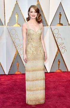 Emma Stone arrives in @Givenchy Haute Couture at the #Oscars