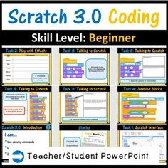 Scratch programming lesson plans Science Resources, Teaching Science, Teaching Resources, Teaching Ideas, Teaching Technology, Digital Technology, Life Science, Wedo Lego, Middle School Technology