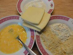 Jak smažit obalovaný sýr, aby nevytekl   recept