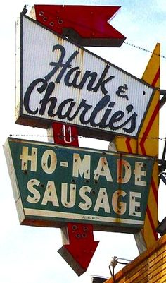 Too many naughty jokes... Who would name a biz Ho-Made Sausage