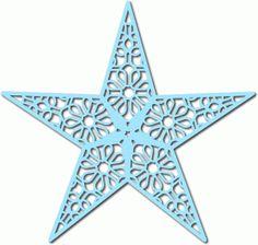 Silhouette Online Store - View Design #52701: star