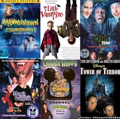 disney halloween made for tv movies