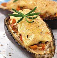 Баклажаны с курицей под сыром Ингредиенты:Баклажан