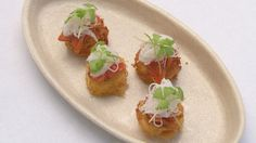 Ocean Trout on Rosti green tea potato daikon sesame salmon coriander mayo Gary masterchef Australia