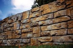 Redi-Rock Ledgestone, a new retaining wall face from Redi-Rock International, gives structural walls a rugged, natural look. The stones can ...