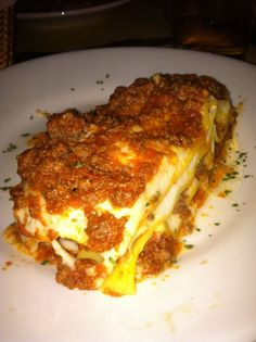 Here is lasagne from Italy as sent by my son Joey.