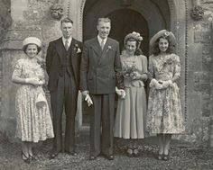 "Uk, ""New Look"" wedding. 1948"