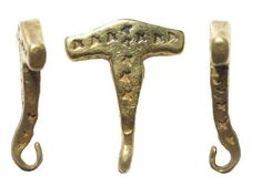 One metal detecting enthusiast uncovered a rare gold Viking Thor's hammer pendant from the late 9th century.