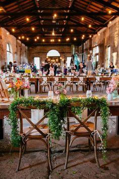 Industrial garden reception #weddingideas #gardenwedding #industrial #weddingreception #weddingdecor