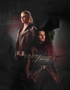 Oliver & Felicity #arrow