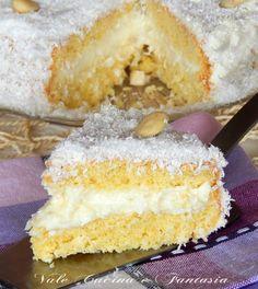 torta raffaello ricetta dolce