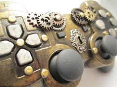 Steampunk Ps3 Controller I for whatever reason is obsessed with everything steampunk and I am obsessed with my Ps3 needless to say Im obsessed with this fine piece of work