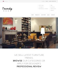 This interior design and furniture WordPress theme features a minimal design, a Bootstrap framework, WooCommerce and WPML compatibility, cross-browser compatibility, a responsive layout, and more.