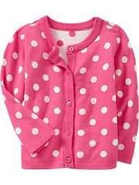 Toddler Girl Clothes: pink cardigan