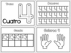 Grafomotricidad números del 1 al 10 (4)                                                                                                                                                                                 Más Kindergarten Lessons, Math Lessons, Math For Kids, Lessons For Kids, Preschool Math, Math Activities, Maths, Numbers Preschool, Learning Numbers