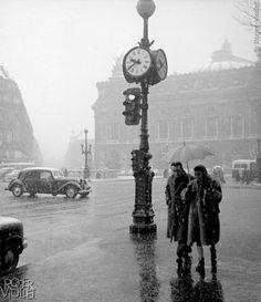 37 photos vintage de Paris sous la neige, de 1900 à 1970, qui vont vous faire rêver