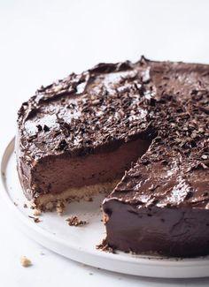 Keto Double Chocolate Cheesecake – Sugar Free Londoner