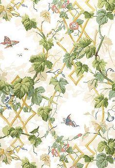 FSchumacher Wallpaper 5004490 Leafy Arbor Cream