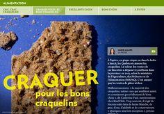 Cric, crac, craquelins - La Presse+ Desserts, Food, Tailgate Desserts, Deserts, Essen, Dessert, Yemek, Food Deserts, Meals
