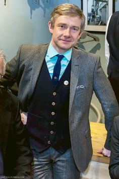 """None other than Martin Freeman was at the club yesterday lunchtime for a cracking Tubby Hayes 80th gig celebration by Simon Spillett Quartet. Pics courtesy of Benjamin Amure Photography ‪#‎precious‬..."