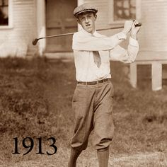 Just as America is beginning to distinguish itself on the world stage, Francis Ouimet, a 20-year-old amateur and former caddie, birdies the 17th hole and shoots 72 in a playoff to defeat famed British professionals Harry Vardon and Ted Ray at The Country Club in Brookline, Mass. Thanks to plucky Ouimet, our first stateside golf hero, Americans discover golf is no longer just a Scottish thing.