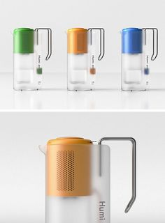 The Humi Pot is a product design concept set for success because it combines the best parts of a dehumidifier with an electric kettle. Industrial Design Portfolio, Portfolio Design, Creative Advertising, Electronic Workbench, Electronic Shop, Class Design, Glass Water Bottle, Dehumidifiers, Shop Interior Design