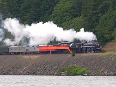 The Columbia River - Steam Trains on the Columbia