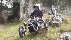 The Swincar Spider Is An Offroad Monster With Crazy Articulation