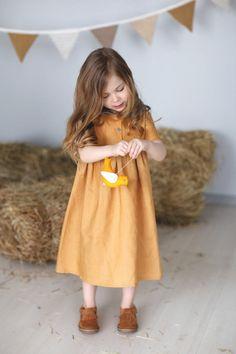 Handmade Linen Dress | HipMomMade on Etsy