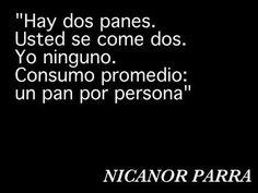 Nicanor Parra despertando mentes.