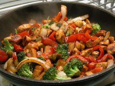 Healthy & Delicious Szechuan Chicken