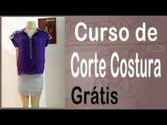 Curso Corte e Costura passo-a-passo camiseta- Super Fácil - YouTube