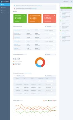 Invoice Sherpa Dashboard by Balkan Brothers